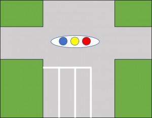二段階信号図